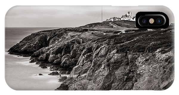 Point Lynas Lighthouse In Llaneilian On Anglesey IPhone Case