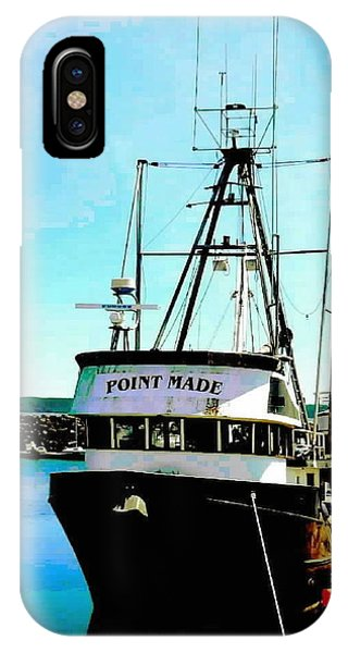 Point Made At Pt Townsend Wa IPhone Case
