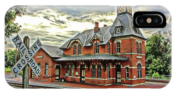 Point Of Rocks Train Station IPhone Case