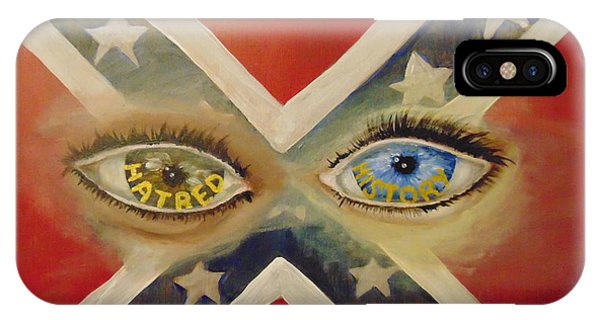 IPhone Case featuring the painting Point Of View by Saundra Johnson