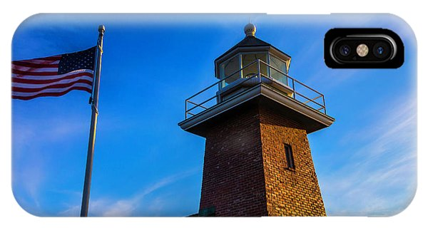 Santa Cruz Surfing iPhone Case - Point Pinos Lighthouse by Garry Gay