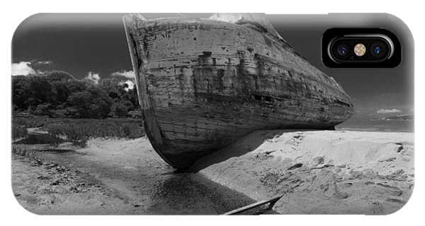 Point Reyes Boat IPhone Case