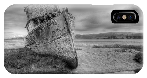 Point Reyes Bw IPhone Case