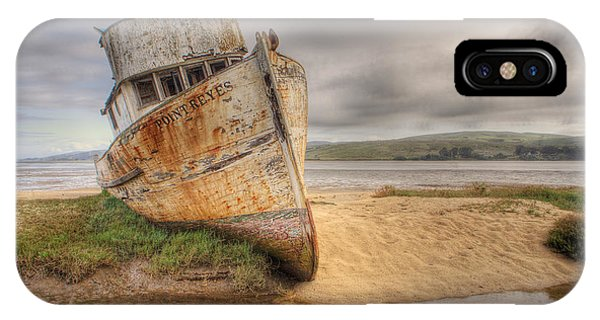 Point Reyes In The Sand IPhone Case