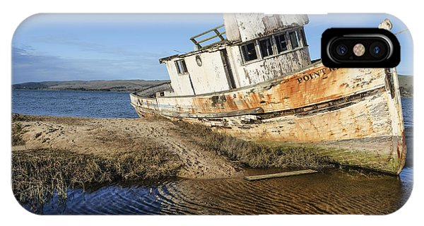 Point Reyes Shipwreck IPhone Case