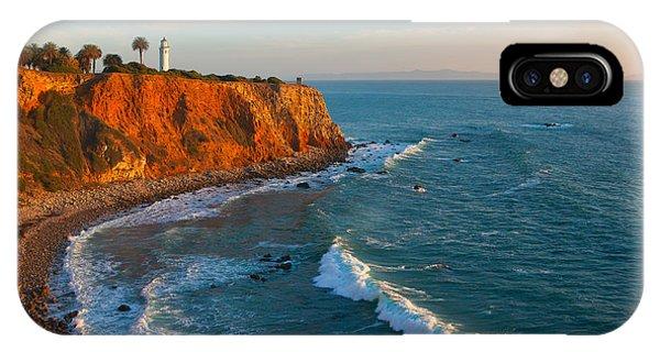Point Vicente Lighthouse Palos Verdes California IPhone Case