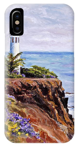 Point Vicente Palos Verdes IPhone Case