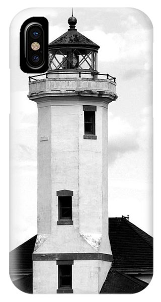 Point Wilson Lighthouse IPhone Case