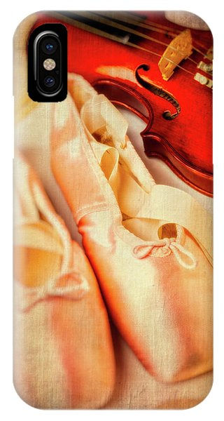 Pointe Shoes And Violin IPhone Case