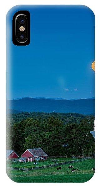 Pointing At The Moon IPhone Case
