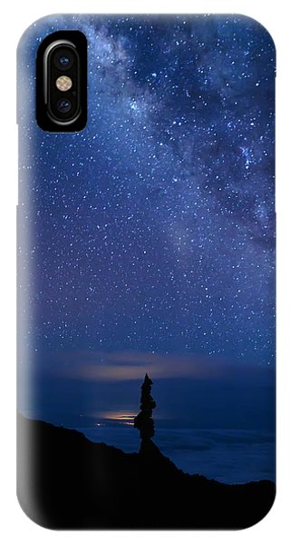 Pointing To The Heavens IPhone Case