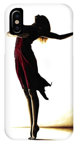 Ballerina iPhone Case - Poise In Silhouette by Richard Young