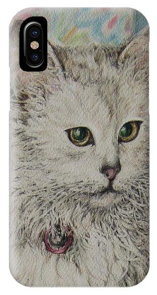 Poised Cat IPhone Case