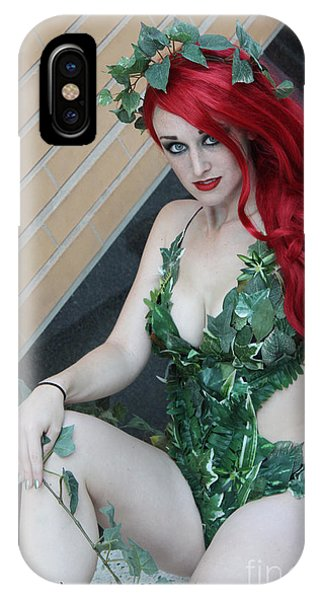 Poison Ivy - Cosplay IPhone Case