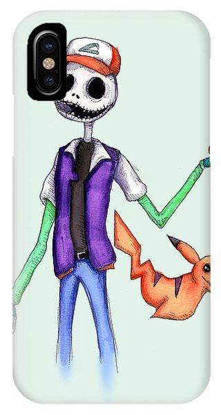 Jack iPhone Case - Pokejack  by Ludwig Van Bacon