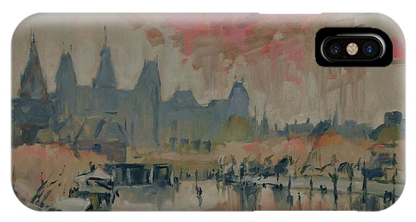 Briex iPhone Case - Pokkenweer Museum Square In Amsterdam by Nop Briex