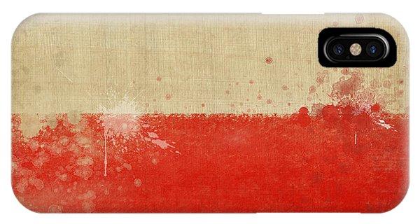 Poland Flag  IPhone Case