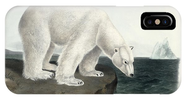 Ice iPhone Case - Polar Bear by John James Audubon