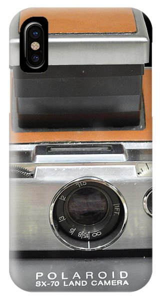 Polaroid Sx-70 Land Camera IPhone Case