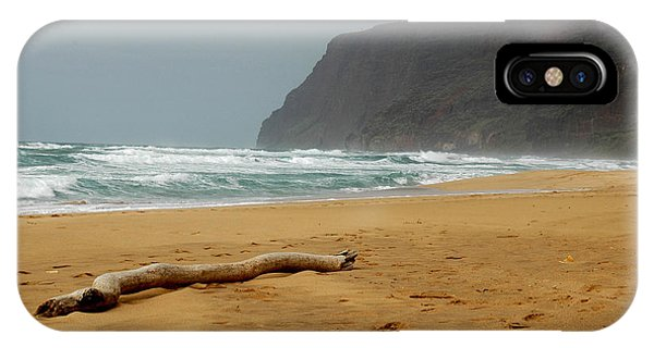 Polihale State Park Phone Case by Kathy Schumann