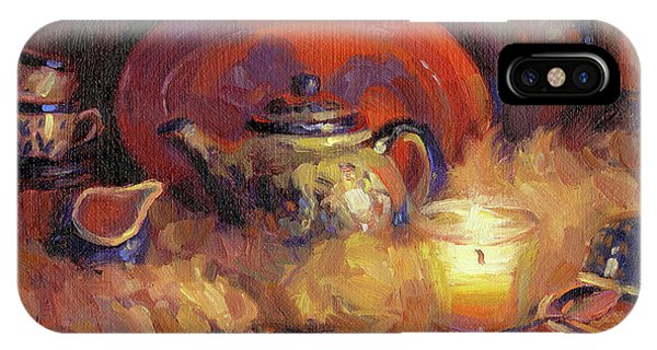 Cobalt Blue iPhone Case - Polish Pottery  by Steve Henderson