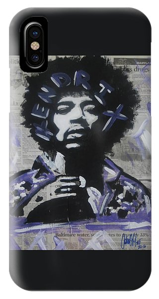 Political Jimi IPhone Case