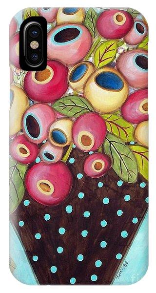 Polka Dot Pot IPhone Case