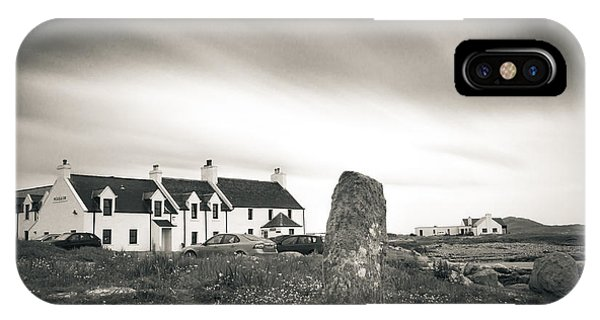 Pollochar Inn And Standing Stone IPhone Case