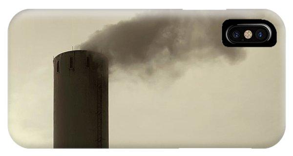 Tint iPhone Case - Pollution by Wim Lanclus