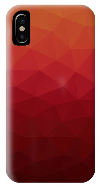 Triangles iPhone Case - Polygon by Mike Taylor