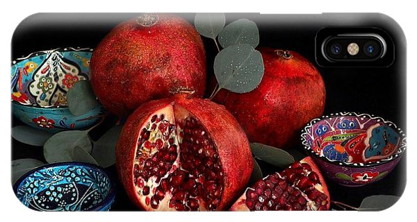 Pomegranate Power IPhone Case