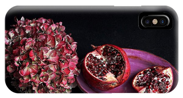 Pomegranate Still Life IPhone Case
