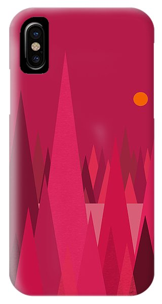 Pomegranate Wood IPhone Case