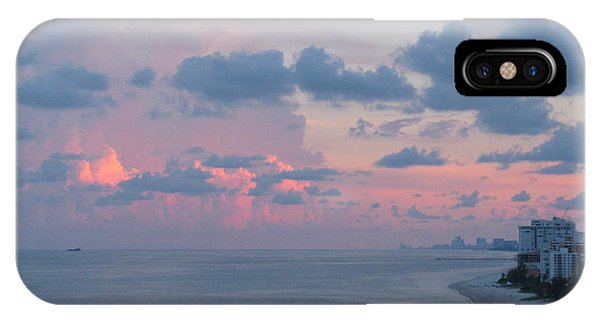 Pompano Pier At Sunset IPhone Case