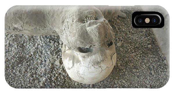 Timeworn iPhone Case - Pompei Man by Patricia Hofmeester