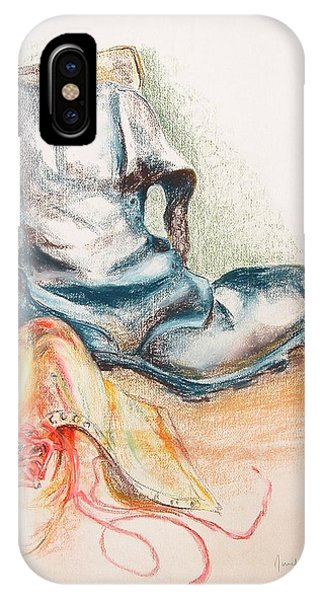 Pompes Phone Case by Muriel Dolemieux
