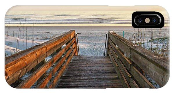Ponce De Leon Inlet Beach Path IPhone Case