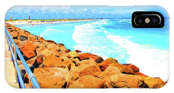 Ponce Inlet Jetty  IPhone Case