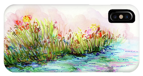 Sunrise Pond IPhone Case