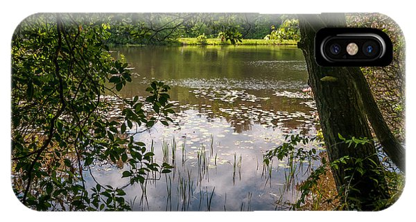 Pond In Spring IPhone Case