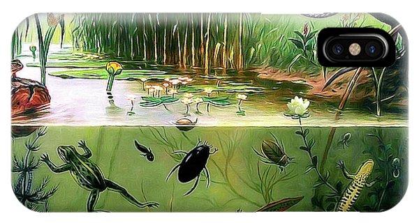 Pond Life IPhone Case
