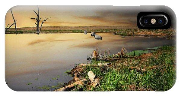 Pond Shore IPhone Case