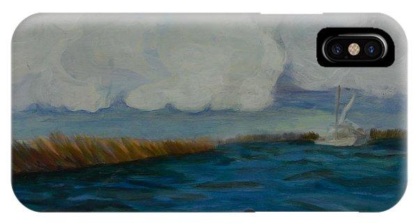 Pointe Aux  Chien IPhone Case