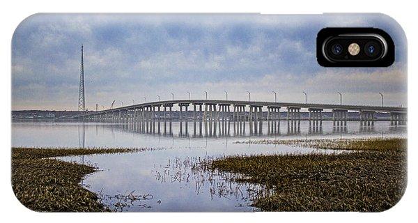 Ponquogue Bridge Hampton Bays Ny IPhone Case