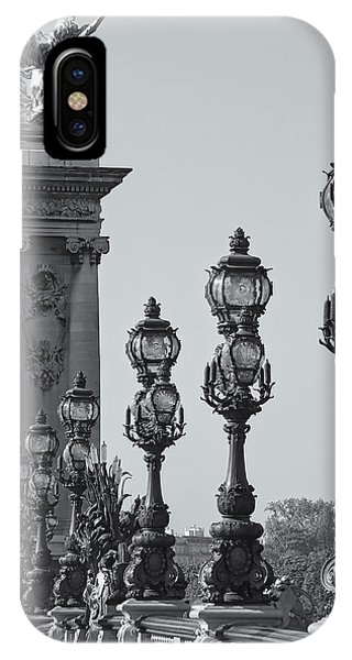 Pont Alexander IIi Detail Bw IPhone Case