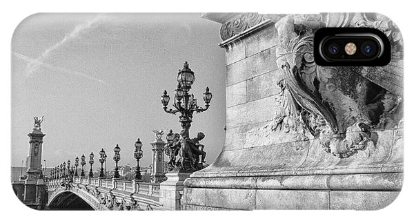 Pont Alexandre IPhone Case