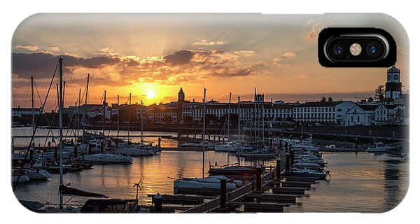Ponta Delgada Sunset IPhone Case
