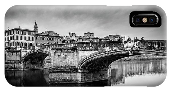 Ponte Santa Trinita IPhone Case