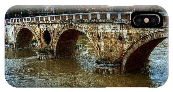 Ponte Sisto Bridge Rome IPhone Case