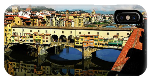 Ponte Vecchio View  IPhone Case